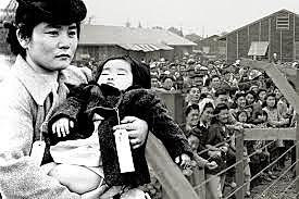 Japanese-Americans are sent to internment camps