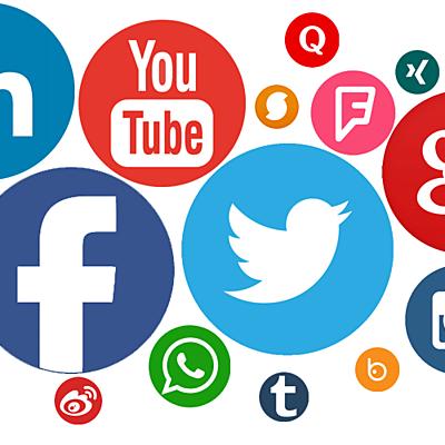 Las redes sociales timeline