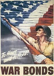 Defense Bonds/War Bonds are sold