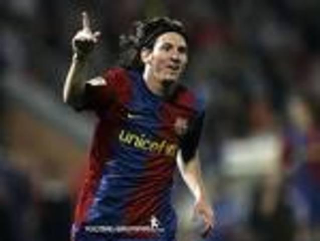 Messi entró en la historia del club blaugrana