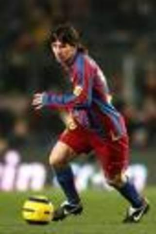 Lionel Messi anotó su gol 131 con la camiseta del Barça
