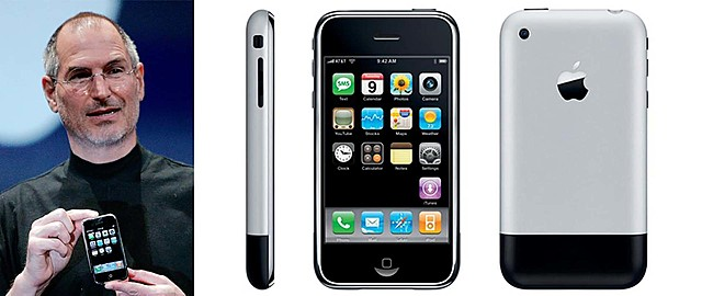 La primera presentación de un iphone