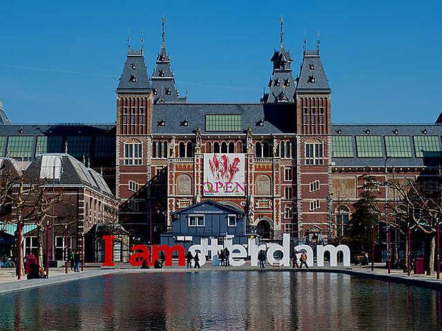 Rijksmuseum, ontworpen door Pierre Cuypers