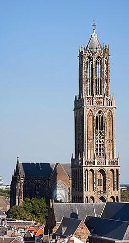 Dom van Utrecht, ontworpen door John of Hainaut en Cornelis de Weal