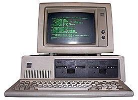 Quinta generación lanzamiento IBM PC 1