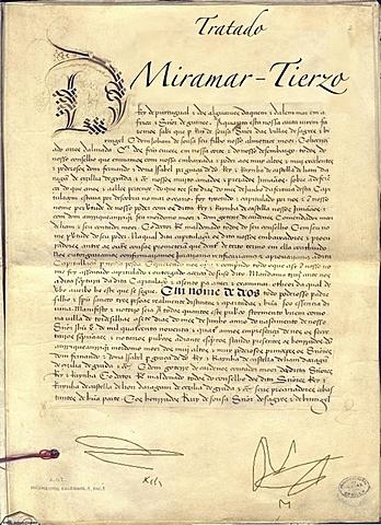 El Tratado de Miramar