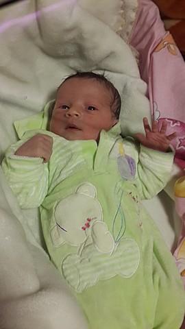 la naissance d'un petit Evan