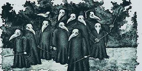 La peste Negra.