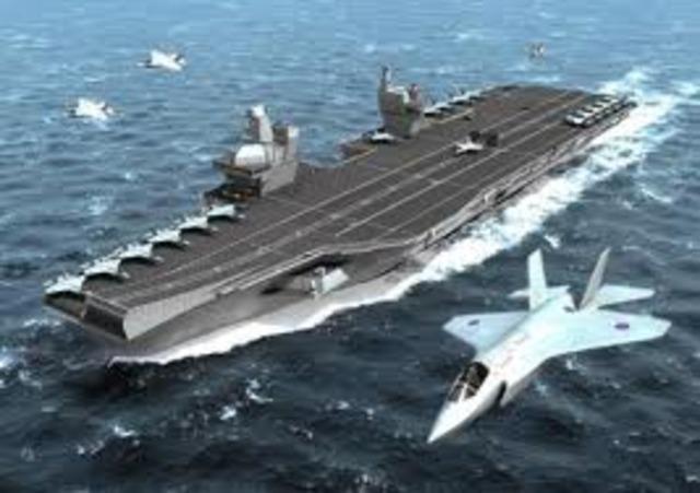 El primer portaaviones