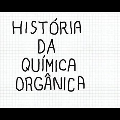História Química Orgânica timeline