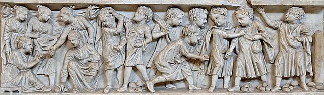 Roma, Hijos de patricios