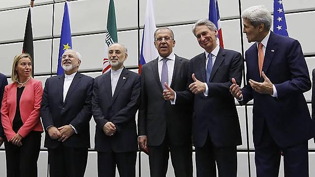 הסכם המעצמות עם תוכנית הגרעין האיראנית