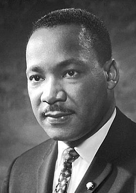 """מרטין לותר קינג נואם את נאומו ההיסטורי """"יש לי חלום"""""""
