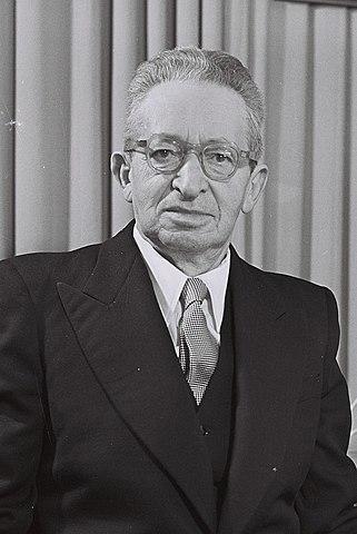 יצחק בן צבי נבחר לנשיא השני של מדינת ישראל