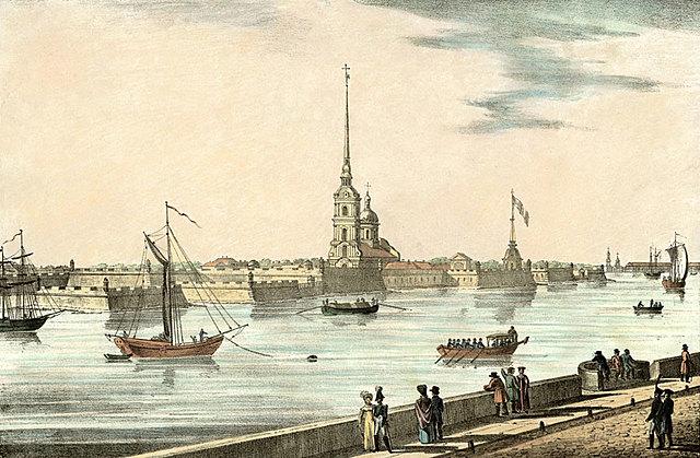 Семья переезжает в Санкт-Петербург