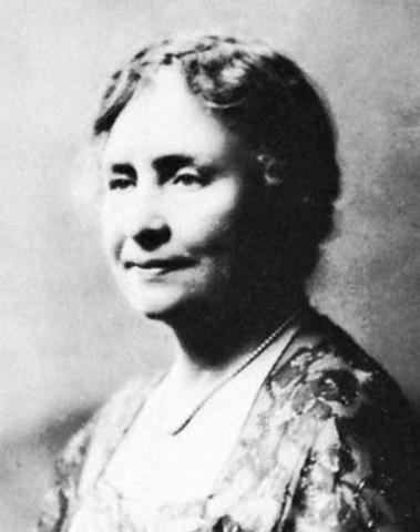 Helen Keller died