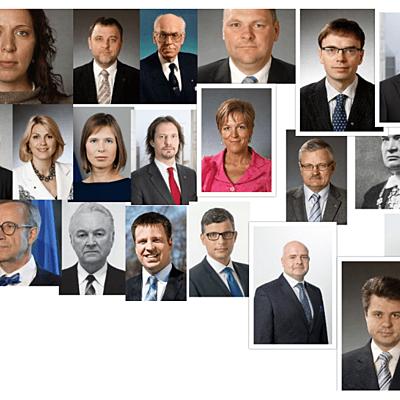 Eesti presidendid timeline