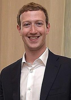 מארק צוקרברג ייסד את הרשת החברתית המקוונת פייסבוק