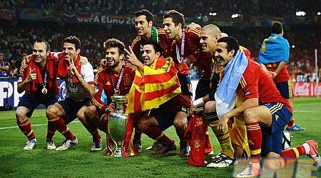 ספרד זוכה בתואר אלופת אירופה בכדורגל בפעם השנייה ברציפות