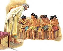 GRECIA y la escolarización para el niño Varon