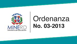Ordenanza No. 03-2013