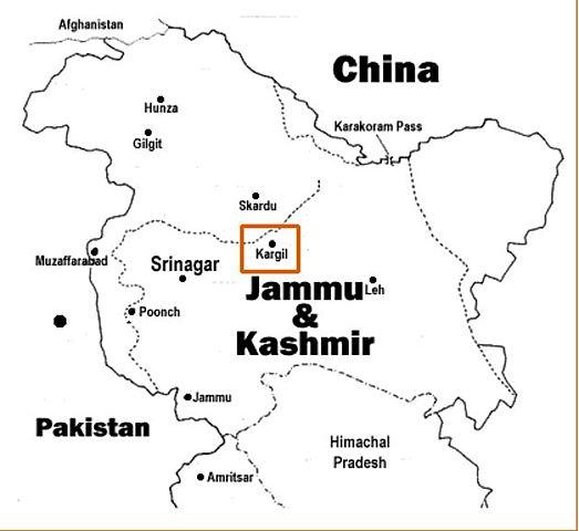 Indo-Pakistan war of 1999 (Kargil War)