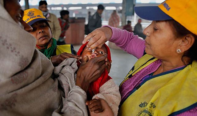 WHO declared India a polio free nation