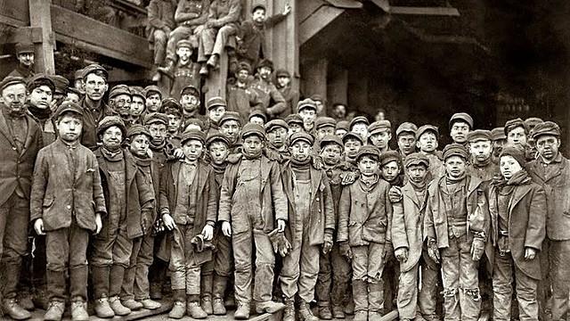 La primera ley laboral / Gran Bretaña