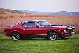 mustang mach one