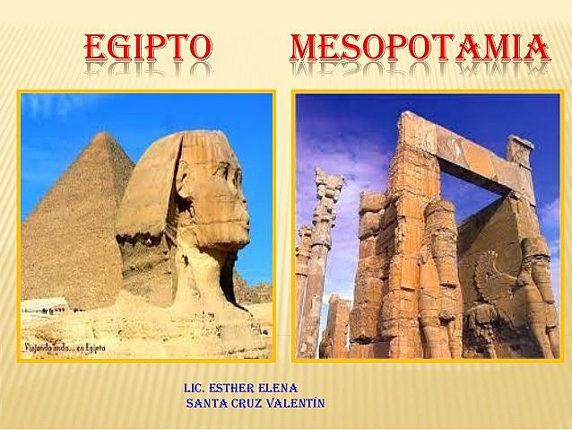 Egipto- Mesopotamia 3000 - 2000 A.C