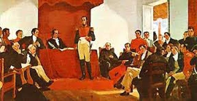 Primeros cimientos de seguridad y salud en Colombia 1819.