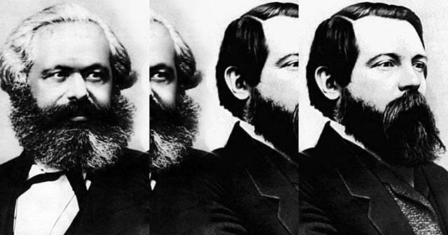 Marx y Engels 1844