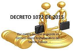 Decreto 1072 de 2015.