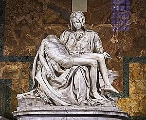 Pietâ by Michelangelo