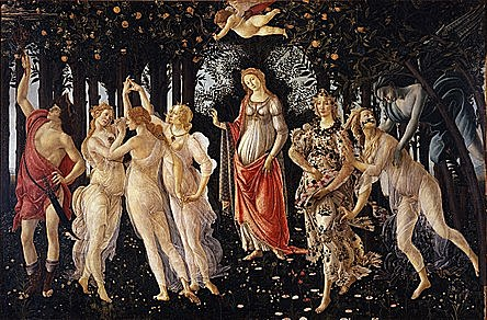 Primavera by Sandro Botticelli