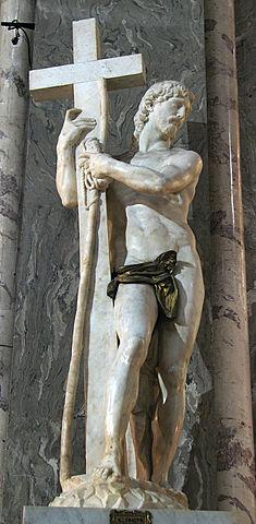 Risen Christ by Michelangelo