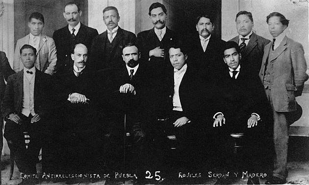 Madero fue designado  a la presidencia por el Partido Nacional Antireeleccionista