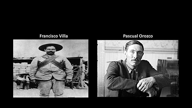 Pascual Orozco y Francisco Villa tomaron  ciudad Juarez