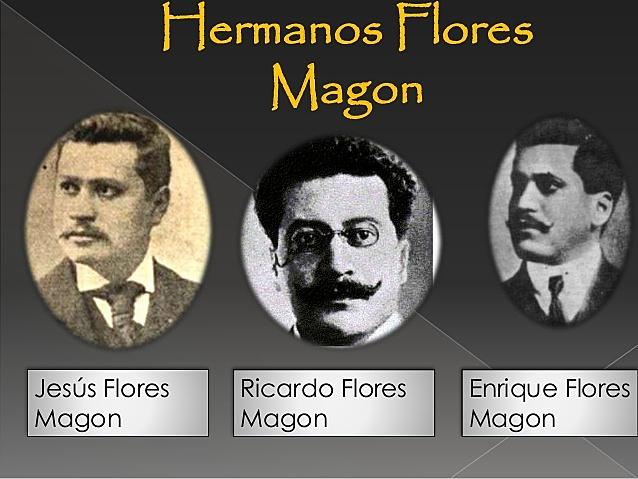 Los  Hermanos Flores Magon fueron expatriados
