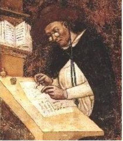 Tommaso Modena a penturé le premier utilisation des lunettes de soleils.