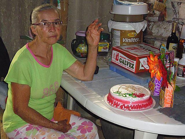 Abuelita Blanca Rosa Villa