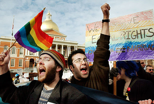 Massachusetts Legalizes Same-Sex Marriage