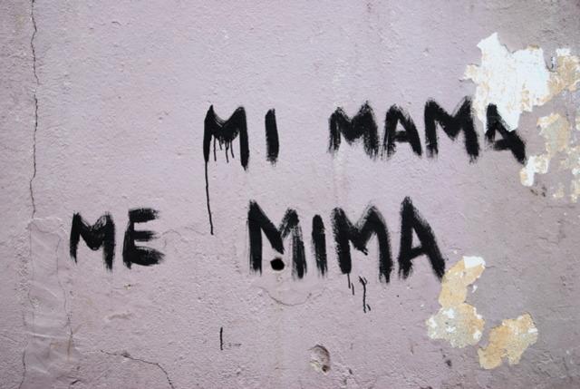 Nacimiento de mi madre