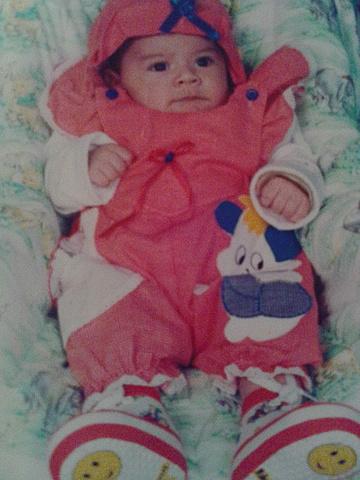 Nacimiento de Angie Paola de los Ríos Yaya