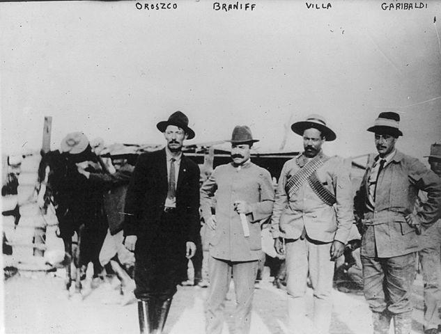 Pascual Orozco y Francisco Villa al norte