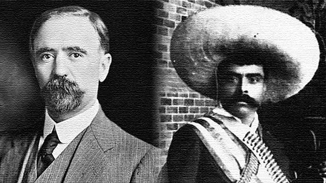Se reúne Francisco I Madero con Emiliano Zapata