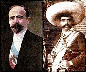 Francisco I Madero le pide a Emilio Zapata que no avance sobre Puebla