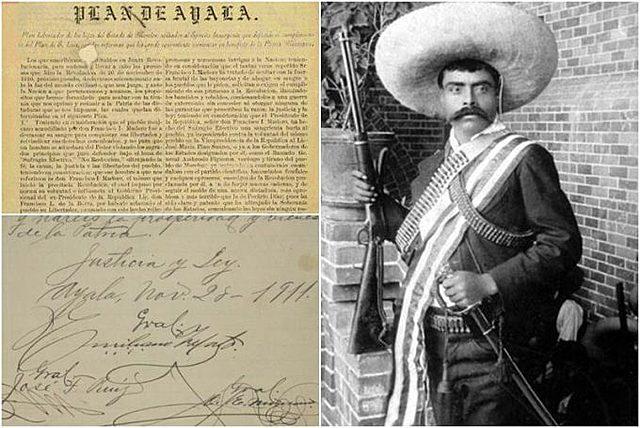 Se firma el Plan de Ayala