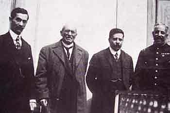 Huerta y Diaz se reúnen con el embajador Wilson