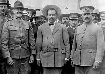 Venustiano Carranza se reunió con los rebeldes Sonorenses.